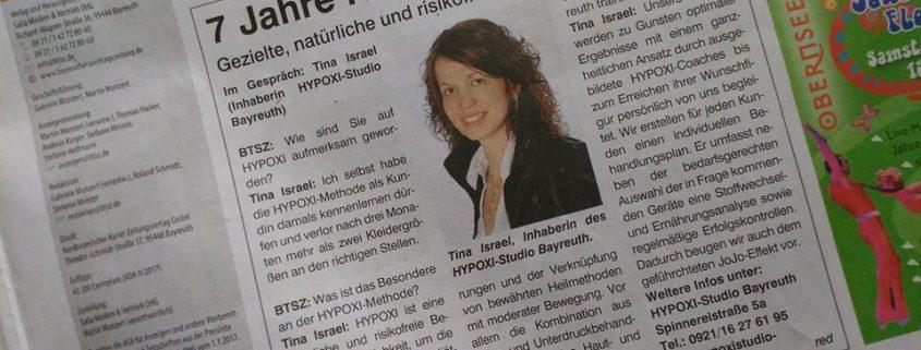 7 Jahre HYPOXI in Bayreuth