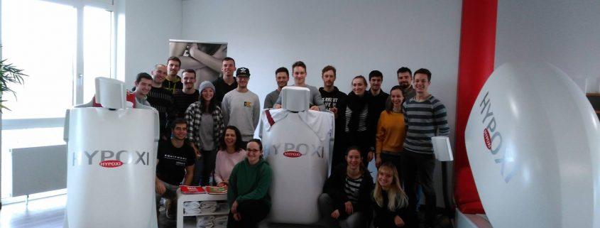 Uni Bayreuth zu Gast im HYPOXI-Studio Bayreuth